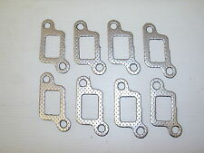 LAND ROVER DISCOVERY 1 V8 EXHAUST MANIFOLD GASKET SET - SET OF 8 NEW GASKETS