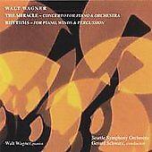 Walt Wagner: The Miracle; Rhythms - CD 2004, SEMAPHONE) NEW & SEALED!
