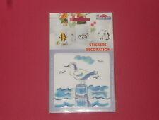 sticker mouette résiste à la chaleur et l'eau pour faïence,bois,plastique verre