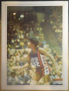 Utah Stars vs New York Nets ABA Scorecard - Dr. J on Cover - Julius Erving