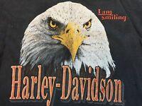 Vintage Harley Davidson Shirt 90s Eagle Harley Tee Biker Tee Harley Motorcycle M