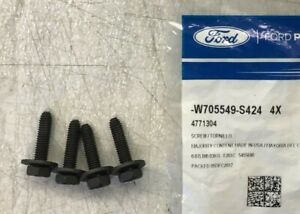 4 Pack Ford Lincoln OEM Bolt Screw W705549-S424