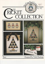 """Fiche point de croix Cricket Collection  """" TREES """""""
