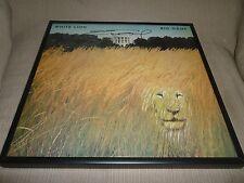 "Signed Autographed White Lion ""Big Game"" Framed LP Mike Tramp"