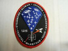 "NASA STS-125 HST-SM4 Atlantis Embroidered Mission ARM/HAT PATCH 4.5"" NEW"