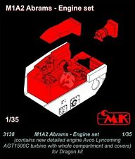 CMK 1/35 Lycoming (Honeywell) AGT1500C Engine Set M1A1/M1A2 Abrams (Dragon) 3138