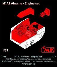 CMK 1/35 Lycoming (Honeywell) AGT1500C Engine Set M1A1/M1A2 Abrams (Dragon) 3138