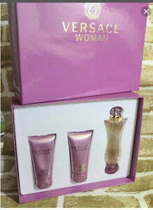 versace women perfume set - 3 pieces