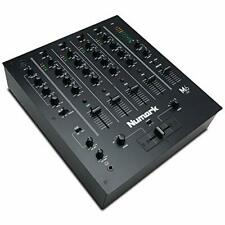More details for m6 usb - 4-channel dj mixer with built-in audio interface, 3-band eq,