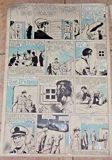 60's OSCAR NOVELLE ORIGINAL WAR II ART COMIC PAGE WARREN GOLD KEY ARGENTINA