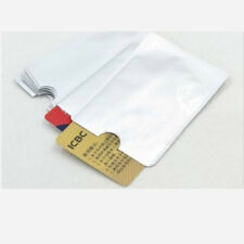 10 pcs Secure RFID Blocking Sleeve Credit Card Protector Bank Card Holder Skin