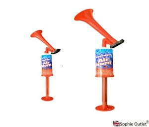 AIR HORN Hand Held Action Football Festival Loud Events Supporters Pump UK