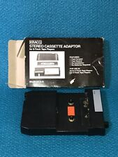 Kraco Stereo Cassette Adapter for 8-Track Tape Players
