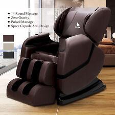 Full Body Massage Chair Electric Zero Gravity Shiatsu Recliner Foot Rest 3-Color