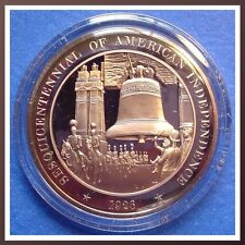 1926 LIBERTY BELL  Archway - Franklin Mint Solid BRONZE Medal Uncirculated