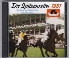 DIE SPITZENREITER 1951 CD ALBUM POLYDOR VARIOUS ARTISTS 18 TITEL