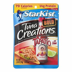 StarKist Tuna Creations BOLD Tapatio With Lime - 2.6 Ounce (Pack of 6)