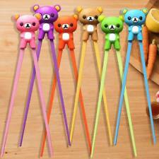 1PC Creative Cute Baby Kids Training Helper Learning Fun Gift Toy Chopstick