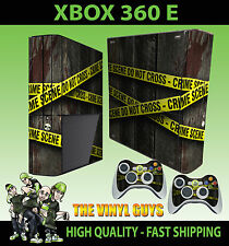 XBOX 360 e impresión de mano de cinta de policía de escena del crimen Pegatina de la piel y el cojín de piel 2