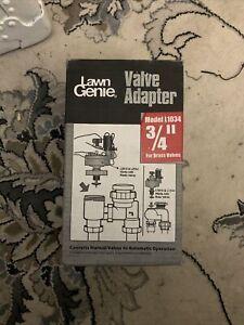 Lawn Genie 3/4 in. Manual Anti-Siphon Thread Valve L1034