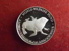 * WWF Silbermedaille (1000) ca.30g.-40mm * Galapagos-Seebär