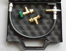 By-pass para cartucho y push & Fill sistema refrigerante válvula válvula antirretorno