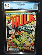 Incredible Hulk #180 - 1st App of Wolverine in Cameo - CGC Grade 9.0 - 1974
