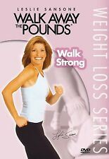 Leslie Sansone WALK STRONG (DVD) away the pounds workout strength lose NEW