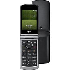 TÉLÉPHONE CELLULAIRE NOIR TITAN LG G351 OUVERTURE À COQUILLE AVEC GARANTIE