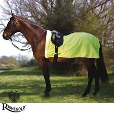 HIGH VIS – Rhinegold 3/4 Ride-On Rug/Exercise Sheet – BE SAFE BE SEEN – COB