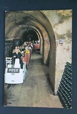 51 MARNE REIMS CHAMPAGNE PIPER HEIDSIECK VISITE CAVES