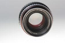 Pancolar 1,8/50 Carl Zeiss Jena Zebra  Objektiv / lens f. M42  No. 8555440