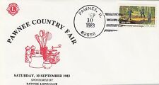(03264) USA Cover Lions International Pawnee IL 10 September1983