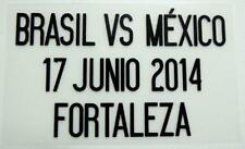 "Match Date of Brasil vs Mexico ""World Cup 2014"" at Mexico Home"