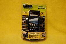 Bracketron Grip-iT Vent Mount Smartphone and GPS Holder PHV-200-BL NEW open pkg