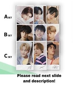 NCT 127 X NATURE REPUBLIC OFFICIAL GOODS PHOTOCARD PHOTO CARD PACK (GROUP ORDER)