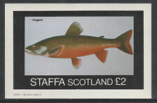GB Locals - Staffa 3516 - 1982  FISH imperf deluxe sheet unmounted mint