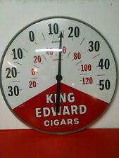 "New ListingCigar King Edward Large Thermometer 18"" Bold Colors Works Visit Goldenhill3898"