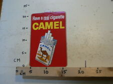 STICKER,DECAL CAMEL HAVE A REAL CIGARETTE  LARGE STICKER