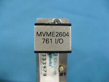 Motorola Mvme2604 761 I/O Vme Cpu Computer Board 01-W1713B12F
