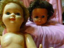 poupée vintage et  RARE tete noire de bella ,ans 70
