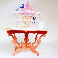Handmade Pop Up Lucky Bird Cage Greeting Happy Birthday Invitations Card 3D DL5
