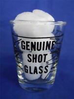 Genuine Shot Glass Bullet Holes Shattered Glass Design Barware
