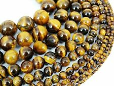 Natural Energy Stone Healing Tiger's Eye Gemstone Round Beads 16'' 6mm 8mm 10mm