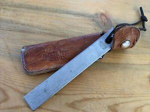 Vintage Schrade Old Timer Honesteel Knife Sharpener