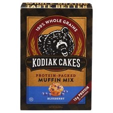 Kodiak Cakes Blueberry Muffin Mix, 14 oz, New/Sealed Box