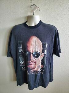 Vintage 1999 WWF Wreslting Stone Cold Steve Austin No Mercy Shirt XL Savvy Tag