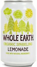 WHOLE EARTH | Organic Natural Ingredients Lemonade 330ml (24 Pack) | FREE DEL