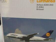 1/200 Herpa Wings Lufthansa Airbus A380-800 D-AIMJ Brüssel 550727-004