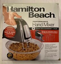 6 Speed Electric Hand Mixer With Storage Case - Hamilton Beach - Pre-owned
